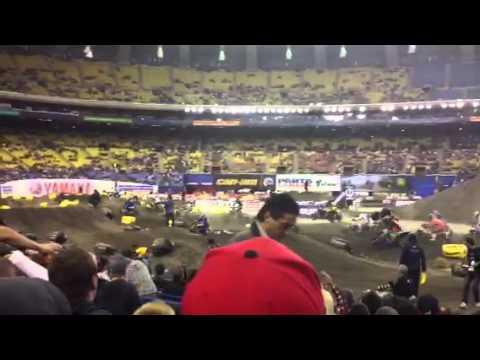 Montreal Supercross - Pro ATV Finale start