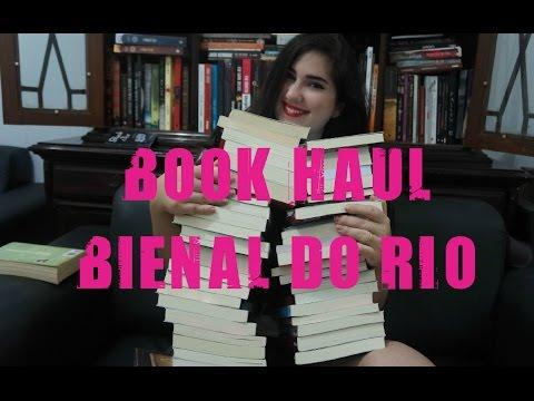 BOOK HAUL BIENAL DO RIO 2015