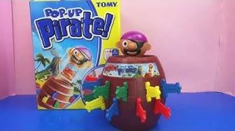 Pop Up Pirate! Kinderspiel / Piratenspiel mit Spannung! Tomy Unboxing und Demo | deutsch