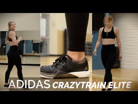 ADIDAS CRAZYTRAIN ELITE BOOST Review YouTube