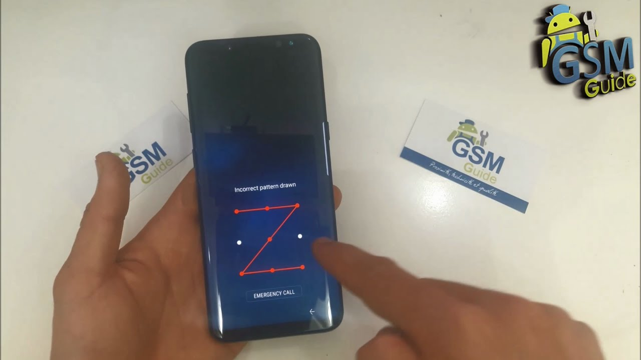 Unlock Pattern Password on Samsung Galaxy S8, S8+ | HARD RESET How To --  GSM GUIDE