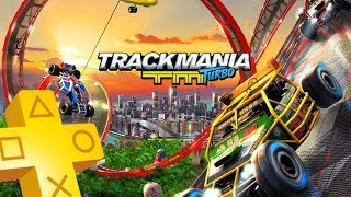 Trackmania Turbo PS Plus April 2018 until May 2018