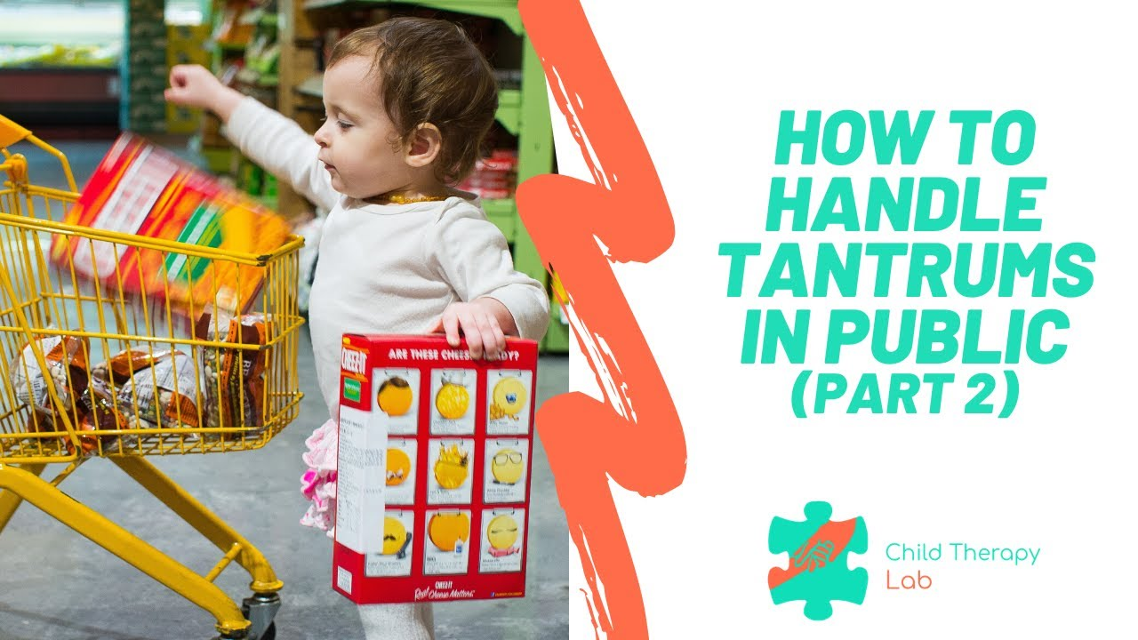 What to Do When Your Child Has a Tantrum in Public