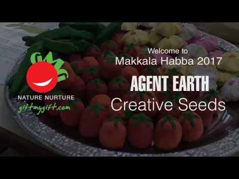Creative Seeds in Makkala Habba 2017-Cubbon Park Bangalore