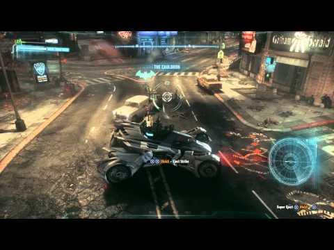 Batman: Arkham Knight Random Crime Fighting
