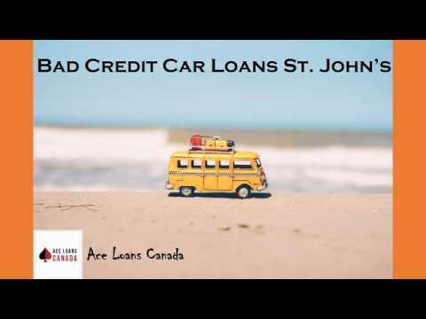 Bad Credit Car Loans St John