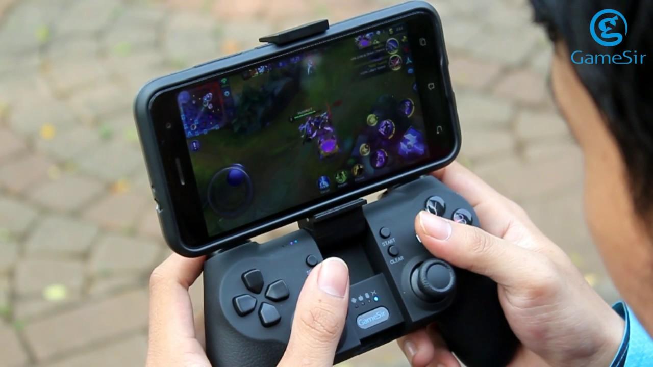 Bermain Game Mobile Legends Bang Bang Menggunakan Gamepad Gamesir