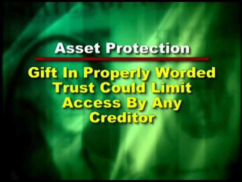 Protection from creditors with trusts in estate planning
