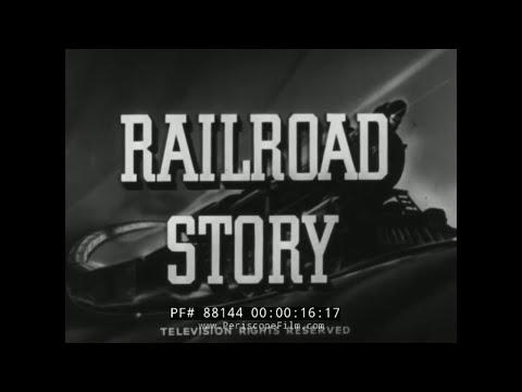 RAILROAD STORY VINTAGE LIONEL TRAINS FILM PENNSYLVANIA RAILROAD 88144