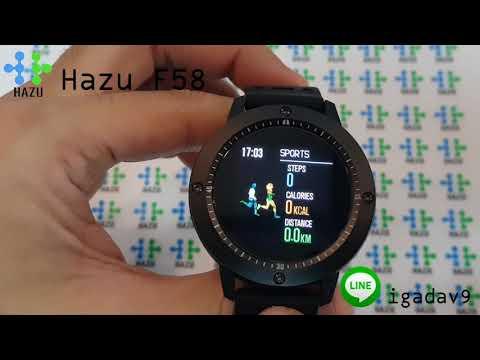 Hazu F58 heartrate Fitness Tracker