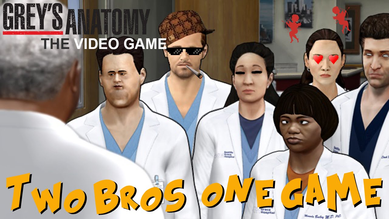 Two Bros One Game: Grey's Anatomy The Video Game - YouTube