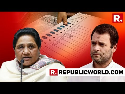 BSP Chief Mayawati Rules Out Alliance With Congress | #ChaosInCong