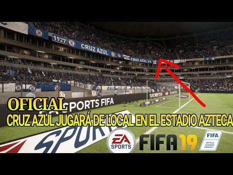 Oficial Cruz Azul Jugará en el Estadio Azteca en FIFA 19