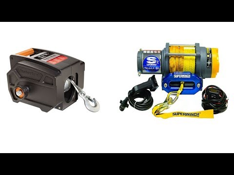 Top 5 Best Towing Winches 2019 and 2020