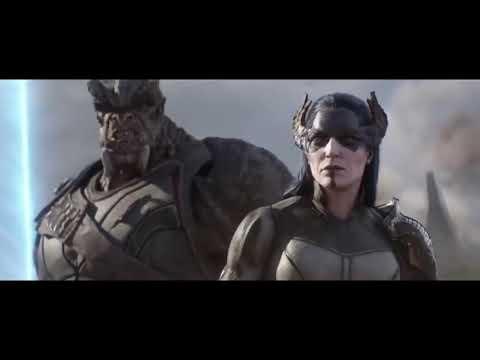 Thor Arrives in Wakanda w Immigrant Song HD