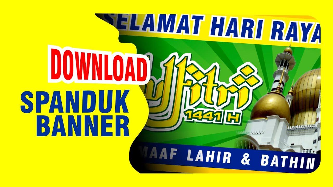 Banner Ucapan Idul Fitri 2020 Cdr - contoh kartu ucapan