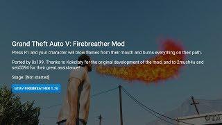 PS4 1.76 Mod - GTA V Firebreather Port