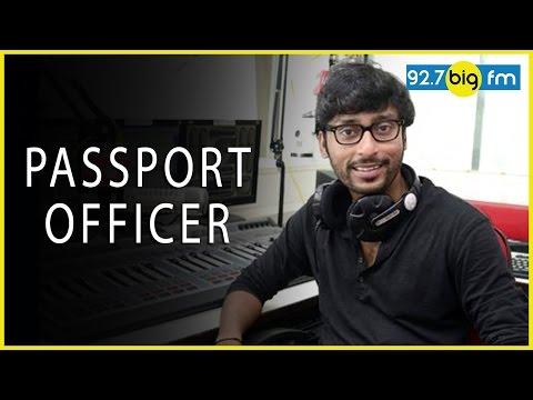 RJ பாலாஜி - Passport Officer |Cross Talk by Big FM RJ Balaji