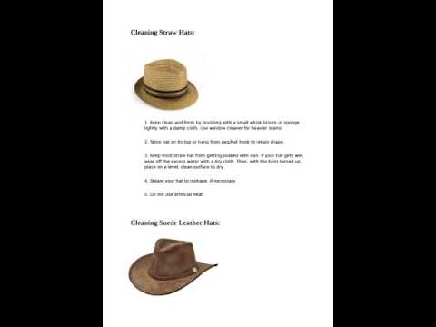 How To Wash A Hat