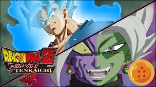 [FR] Dragon Ball Z budokai Tenkaichi 4 Episode 5 - VEGETO BLUE VS BLACK ZAMASU ! | Gameplay Francais