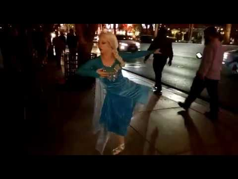 Ballet Dance at Las Vegas- (Amazing Vegas trip at night), A great talent