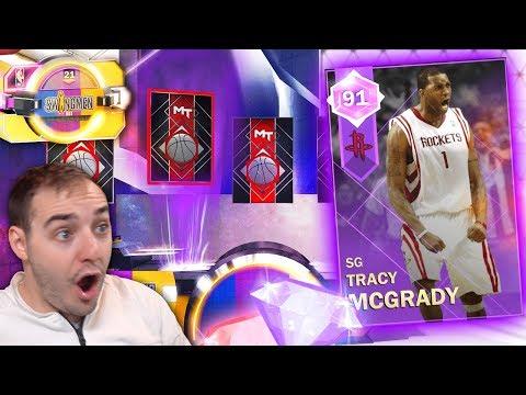 NBA 2K18 My Team AMETHYST TMAC IN PACKS! IS THAT HIM?!?! OMG!