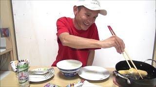 チャレンジ!うまい棒の天ぷら いちご味 (あっち) Challenge! I want to tempura sweets. Strawberry flavor