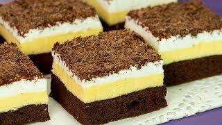 """Aș savura acest desert rafinat în fiecare zi….– prăjitura """"Înghețată falsă"""".   SavurosTV"""
