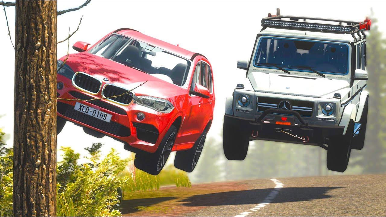Street Racing Car Crashes #38 - BeamNG Drive | CRASHdriven