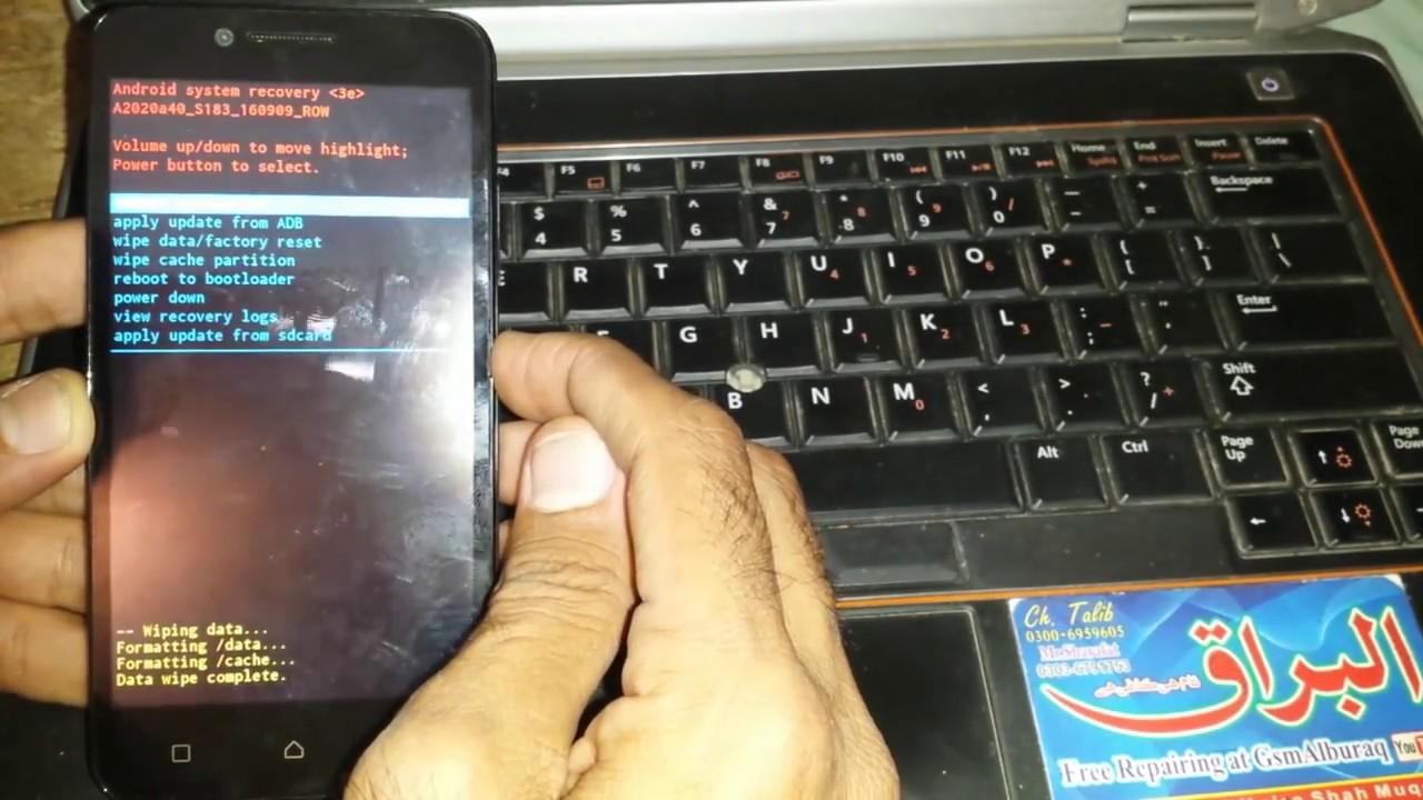 Lenovo A2020a40 FRP Solution,Bypass Over All Lenovo 2017 Method
