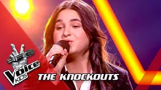 Veronika - 'My All' | Knockouts | The Voice Kids | VTM