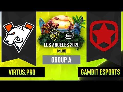 Virtus.pro vs Gambit Esports vod