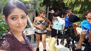 2017_देखिए गॉव मे कैसे होती है भोजपुरी फिल्म की शूटिंग - Latest Bhojpuri Film Video - Priyanka Singh