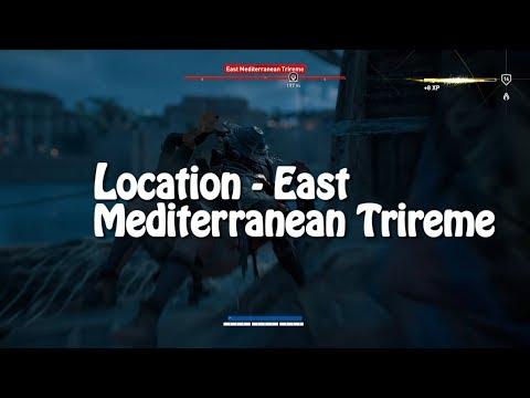 Assassin's Creed Origins: Location - East Mediterranean Trireme