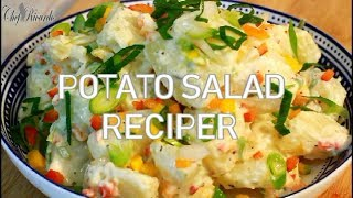 How To Make Worlds Best Potato Salad Potato | Chef Ricardo Cooking.com