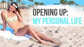 Pressure in the fitness industry, relationships + life update