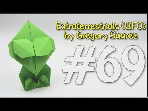 extraterrestre origami