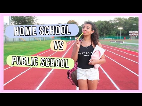 Home School vs Public School ♡