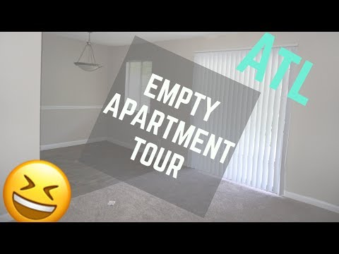 MOVING TO ATLANTA! | Empty Apartment Tour | | DejaFitBeauty