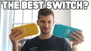 Is Switch Lite The BEST Nintendo Switch? Hands On Switch Lite Review