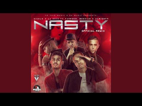 Nasty (Official Remix) (feat. Farruko, Messiah & Almighty) videó letöltés