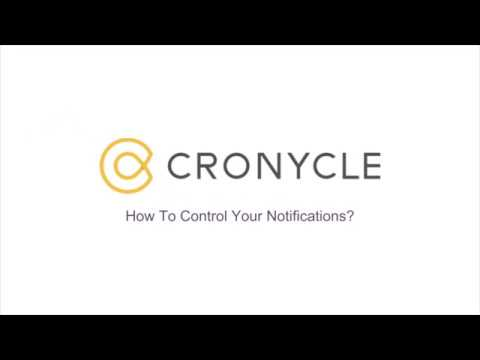 Learn how to control your notifications