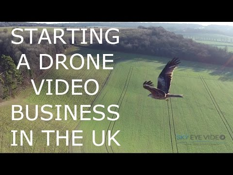Starting a drone business in the UK - visiting someone who's just done it