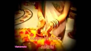 ~~happy Birthday Sakshi By Veena~~