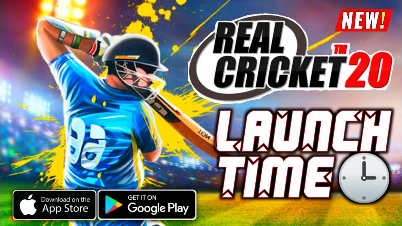 REAL Cricket 20 Released On PlayStore TIME???? Full Details | Mega Update Rollout Time? | Hindi