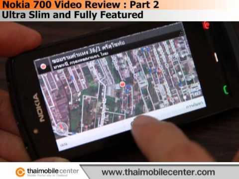 Nokia 700 Video Review (วิดีโอรีวิว) : Part 2