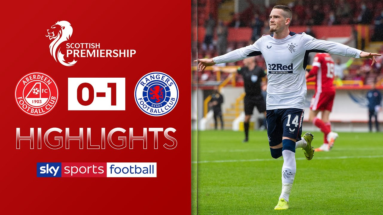 Kent gives Rangers opening day win against 10-man Dons! | Aberdeen 0-1 Rangers | SPFL Highlights