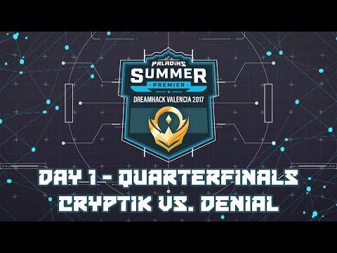 Paladins Summer Premier Quarterfinals: Team Cryptik vs. Denial Esports