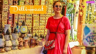 घूमिए  Dilli Haat मेरे साथ | Amazing सूट, साड़ी, कुर्ती, Jewellery, Home Decor | Perkymegs Hindi