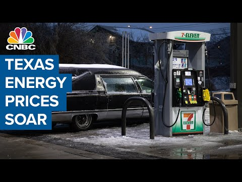 Texas energy prices soar as the state is hit by severe winter storm